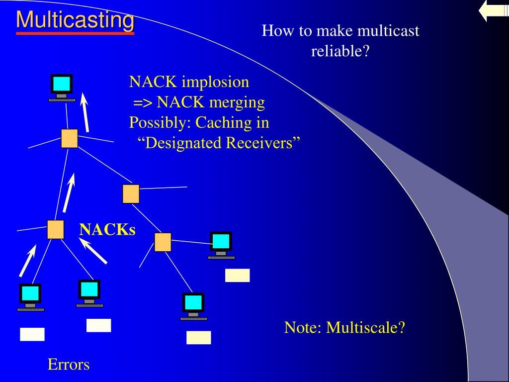 NACK implosion