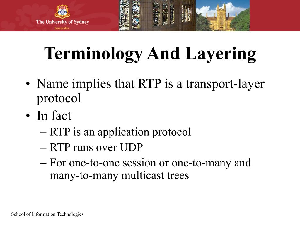 Terminology And Layering