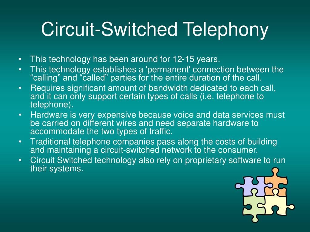 Circuit-Switched Telephony