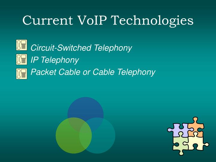Current voip technologies