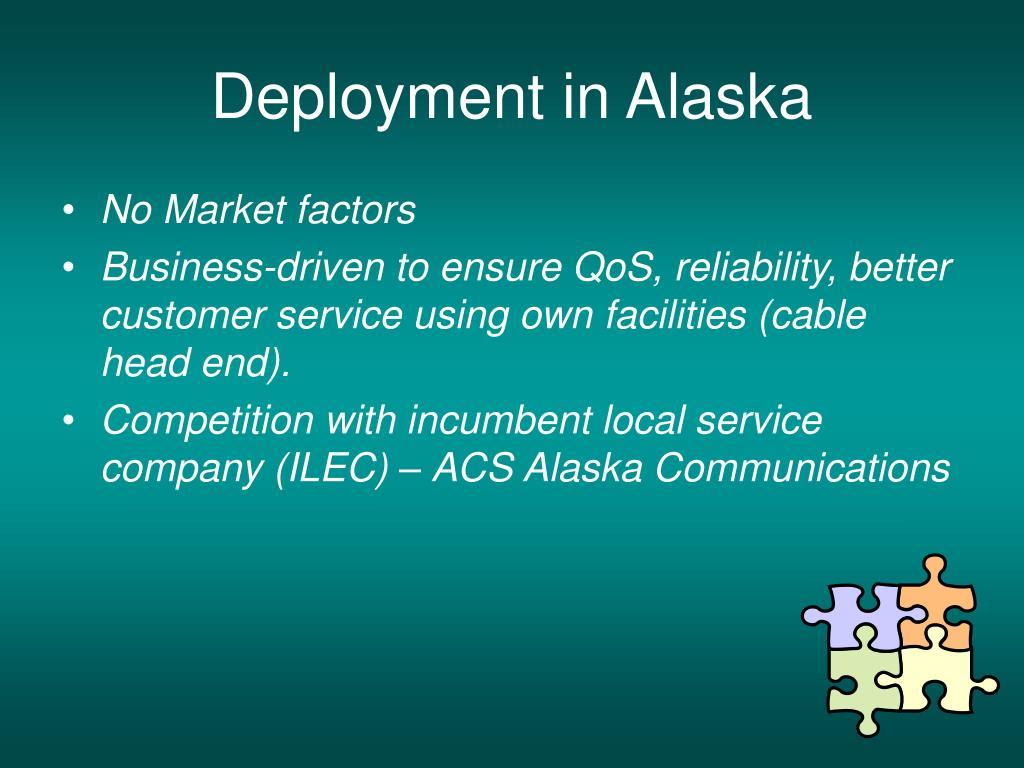 Deployment in Alaska