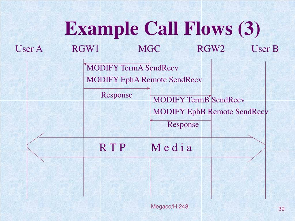 Example Call Flows (3)