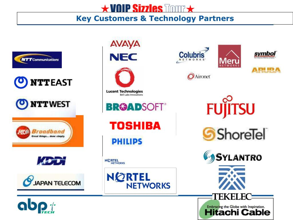Key Customers & Technology Partners