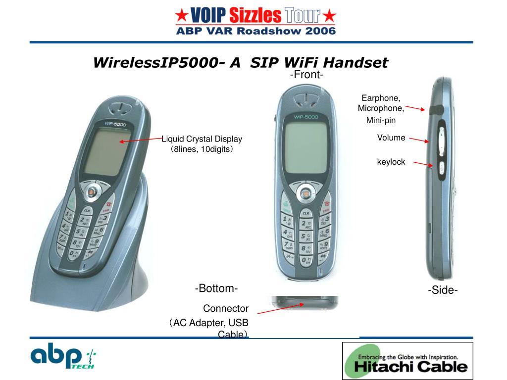 WirelessIP5000- A