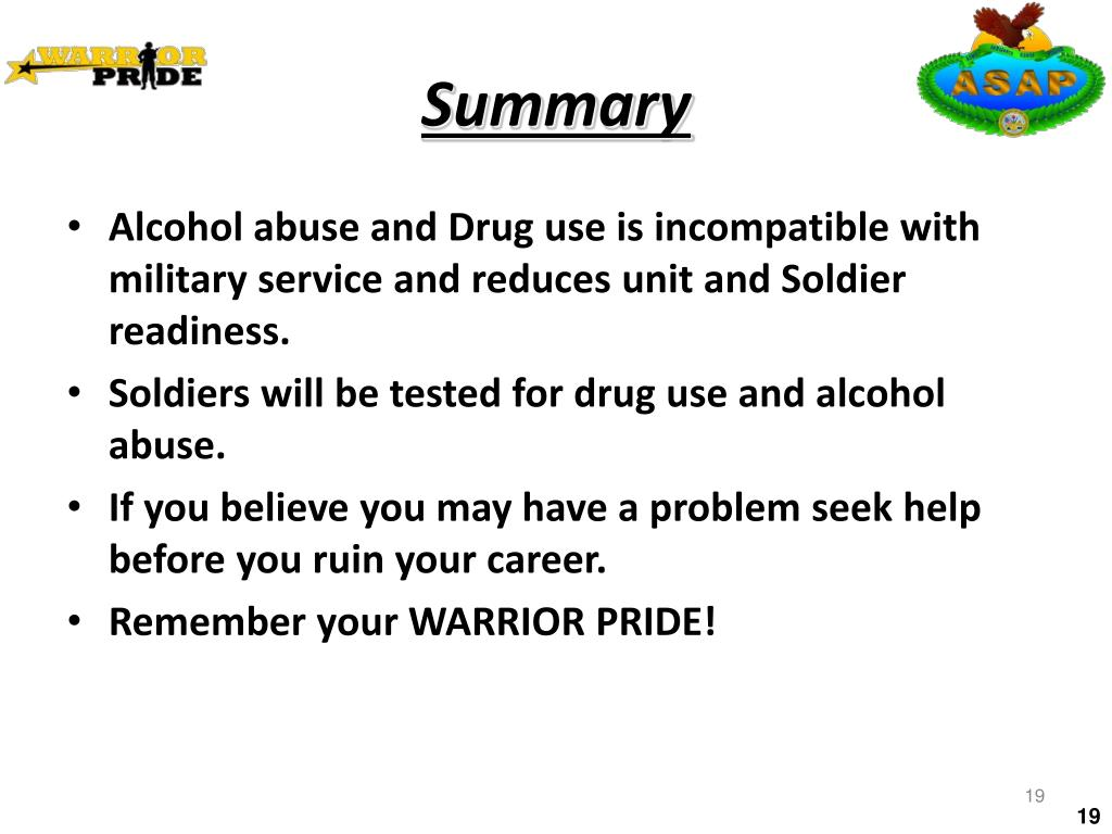a discussion of the alcohol and drug abuse prevention and control program Drug prevention and treatment programmes and services  alcohol and drug prevention  pride is a substance abuse prevention.