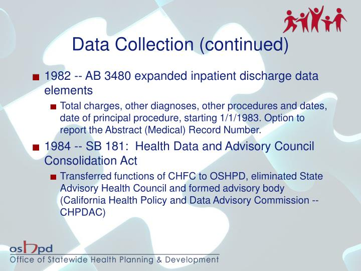 Data Collection (continued)