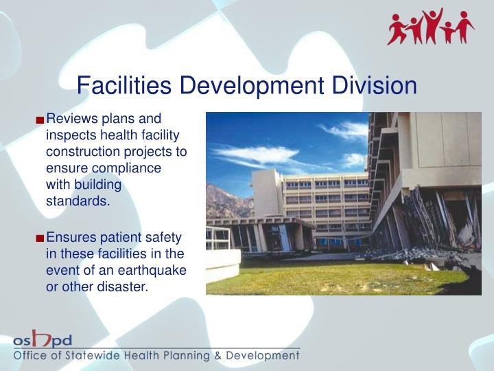 Facilities Development Division