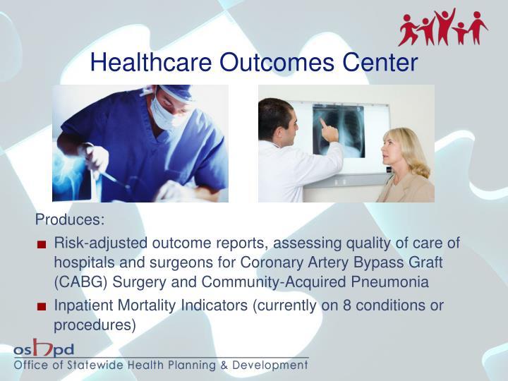 Healthcare Outcomes Center