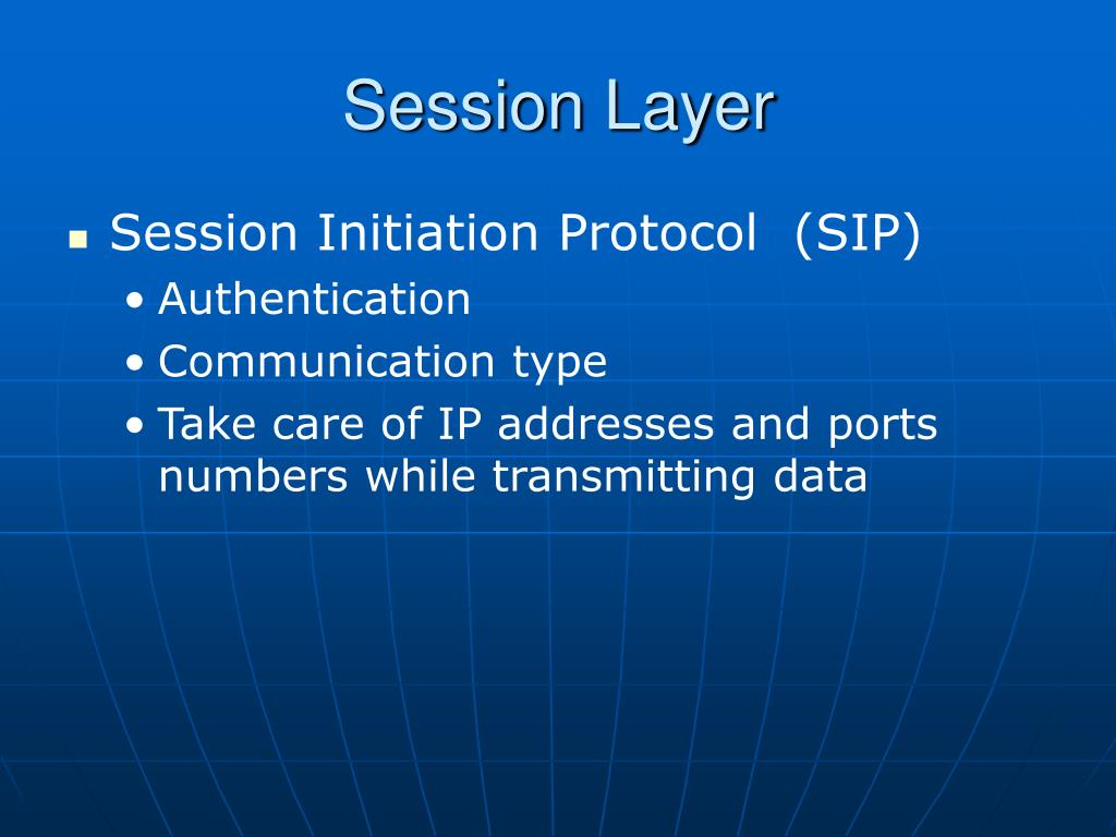 Session Layer