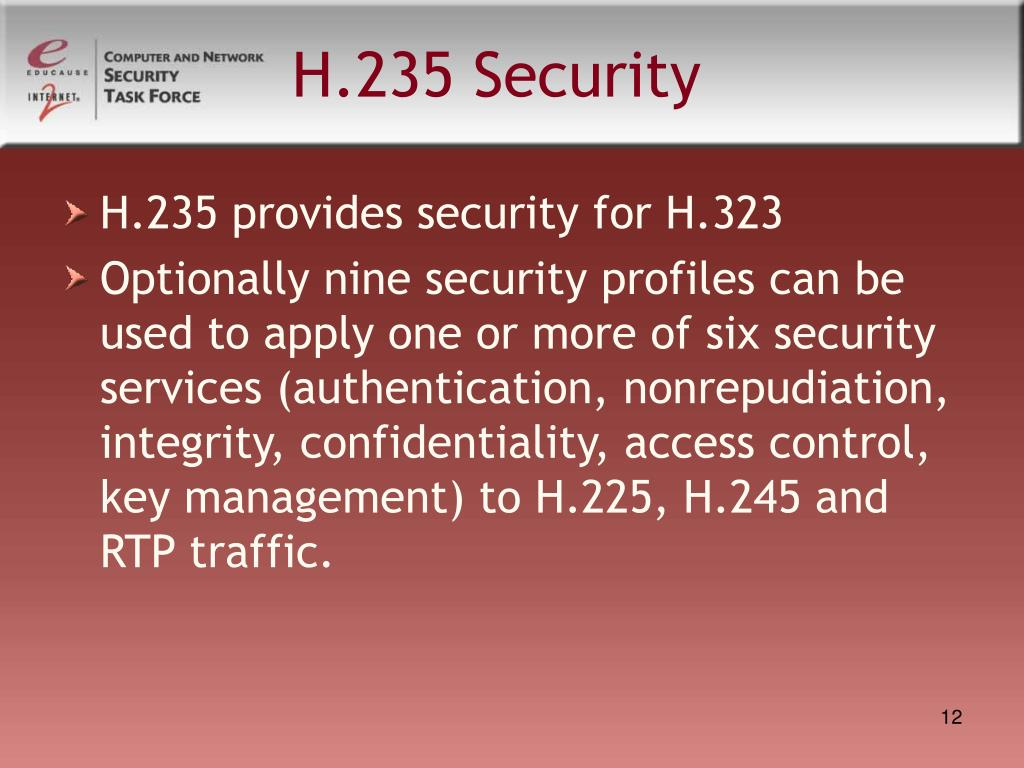 H.235 Security