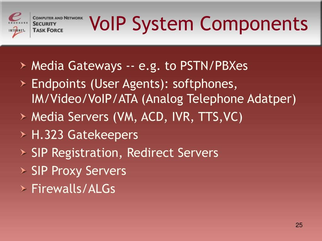 VoIP System Components