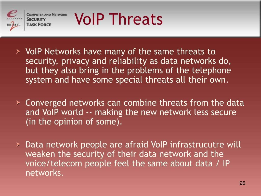 VoIP Threats