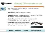 reducing communication costs