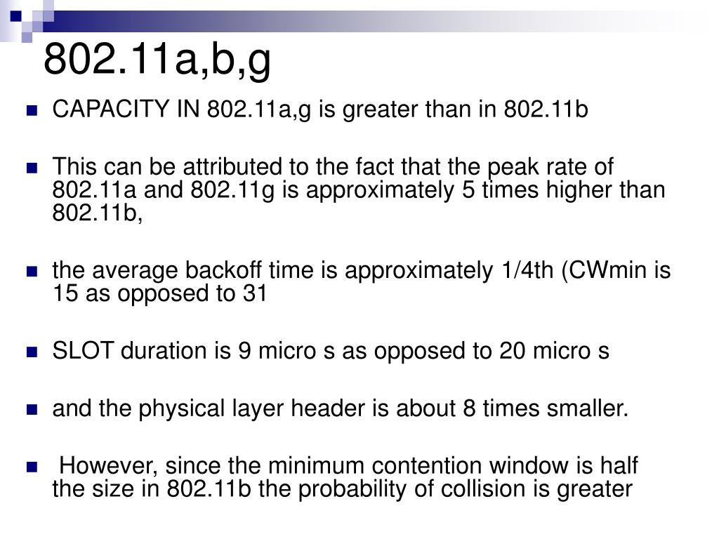 802.11a,b,g