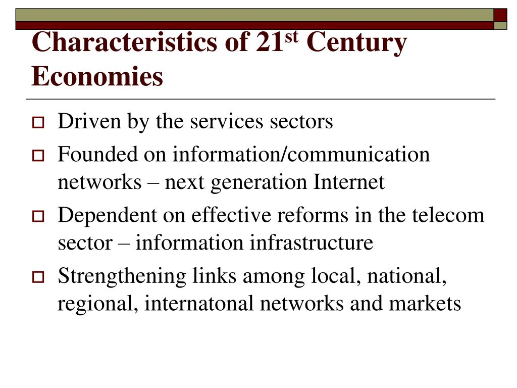 Characteristics of 21