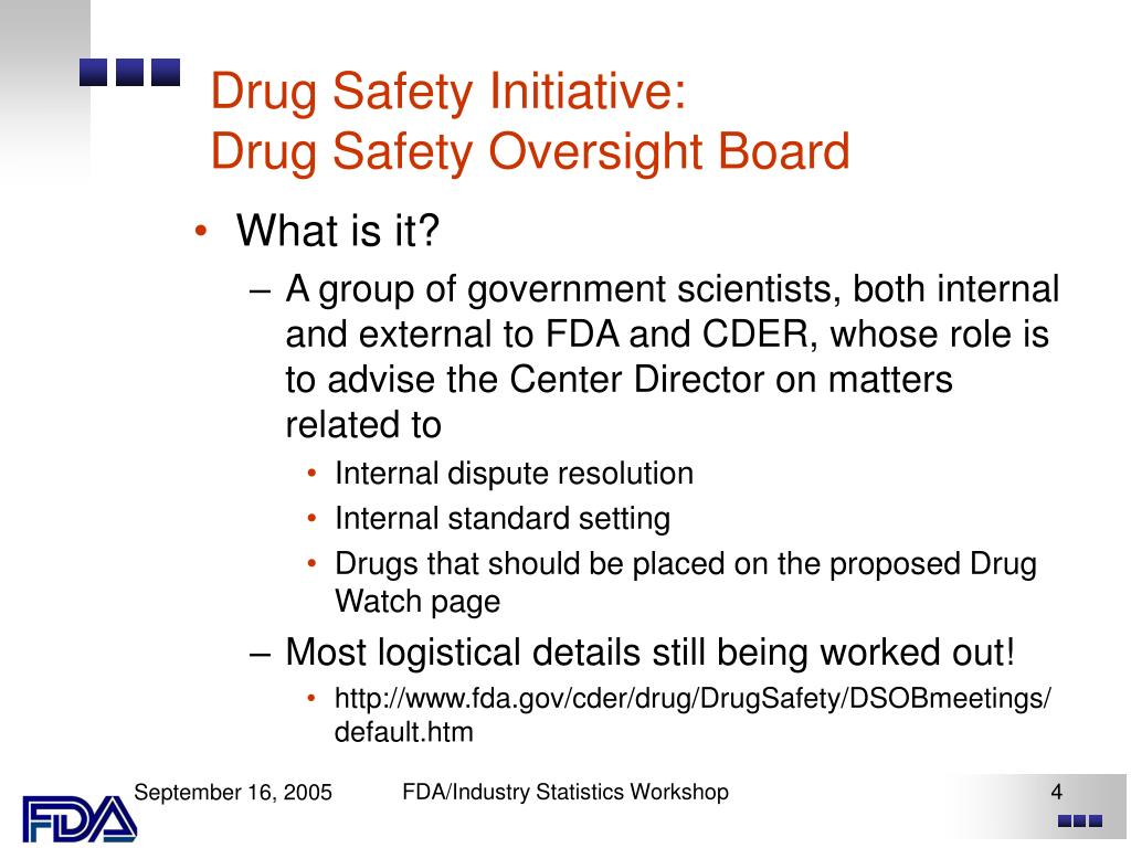 Drug Safety Initiative: