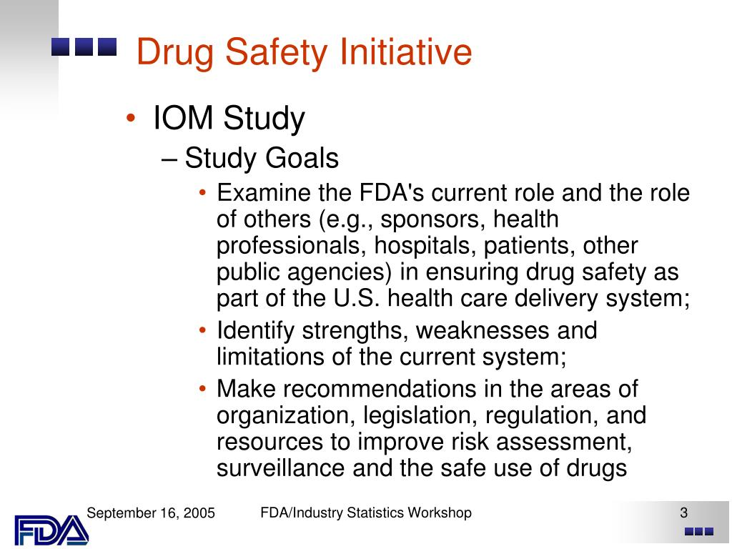 Drug Safety Initiative