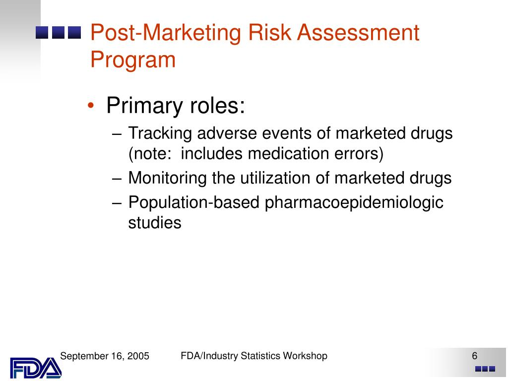 Post-Marketing Risk Assessment Program