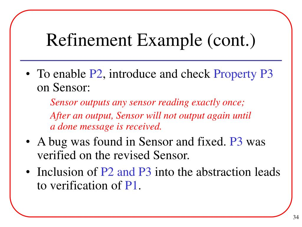 Refinement Example (cont.)