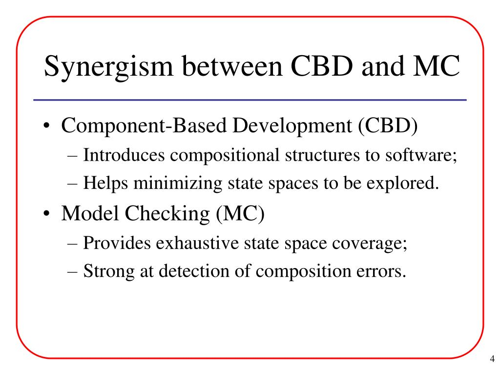 Synergism between CBD and MC