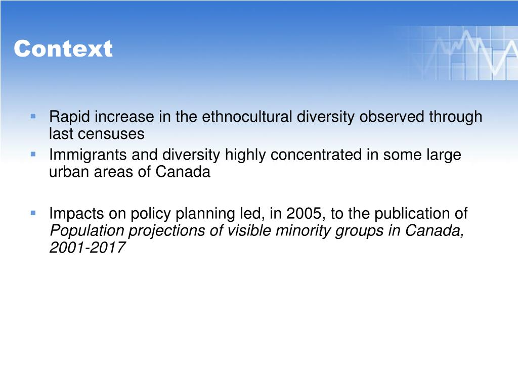 Rapid increase in the ethnocultural diversity observed through last censuses