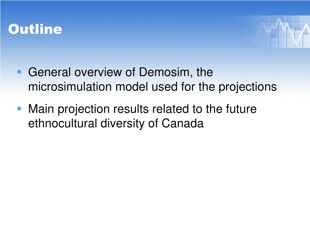 General overview of Demosim, the microsimulation model used for the projections