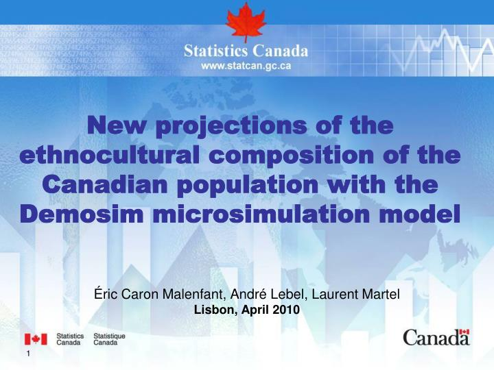 New projections of the ethnocultural composition of the Canadian population with the Demosim microsi...