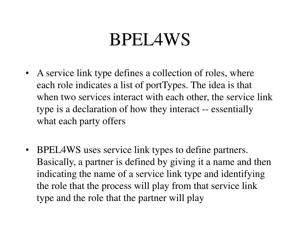BPEL4WS