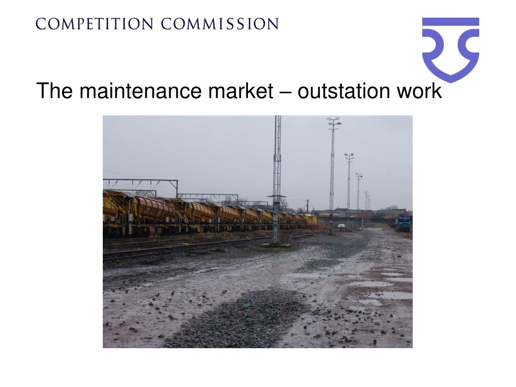 The maintenance market – outstation work