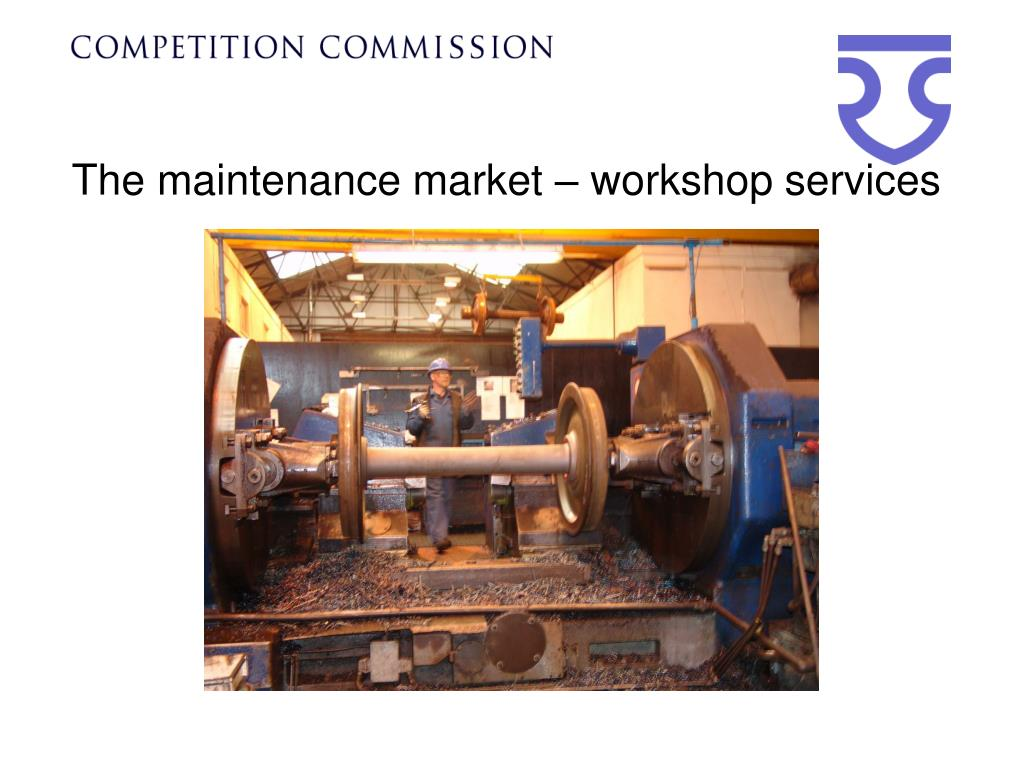 The maintenance market – workshop services