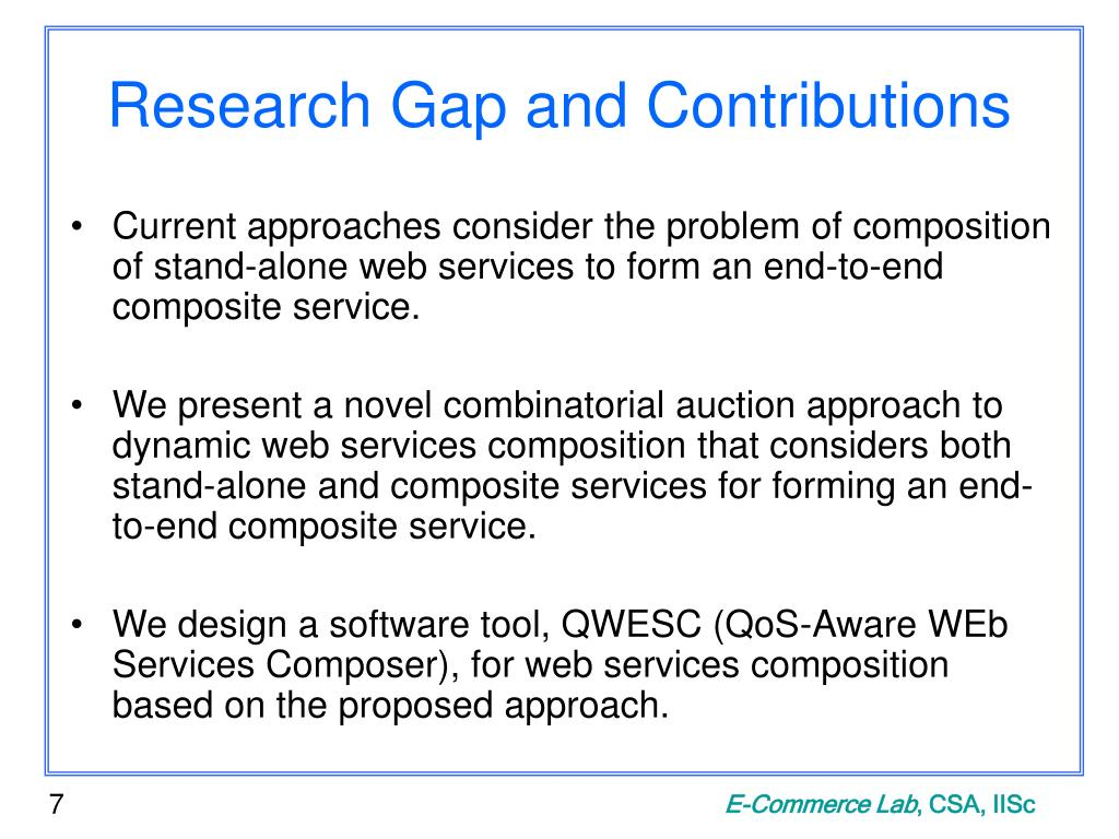 Research Gap and Contributions