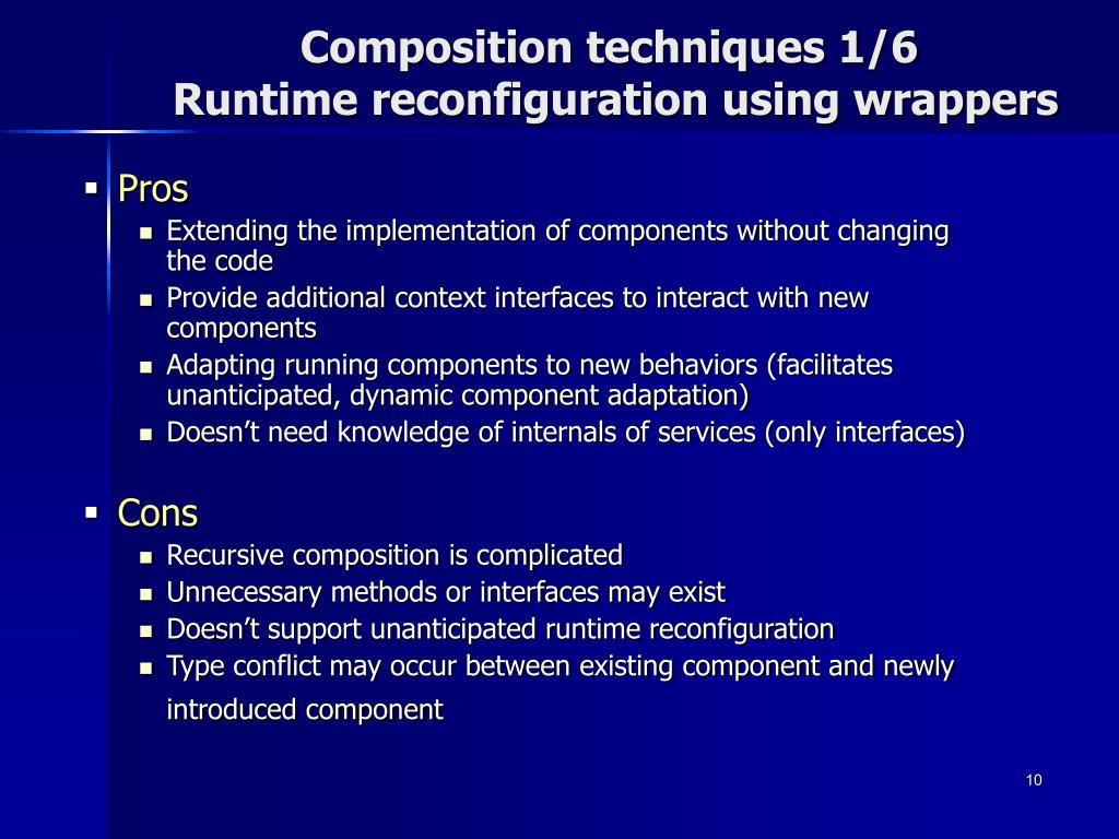Composition techniques 1/6
