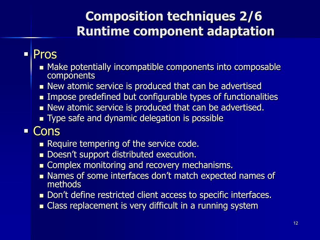 Composition techniques 2/6