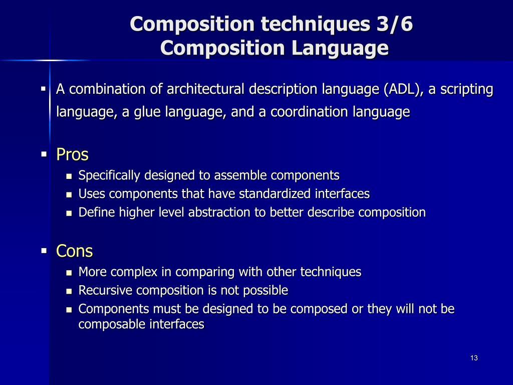 Composition techniques 3/6