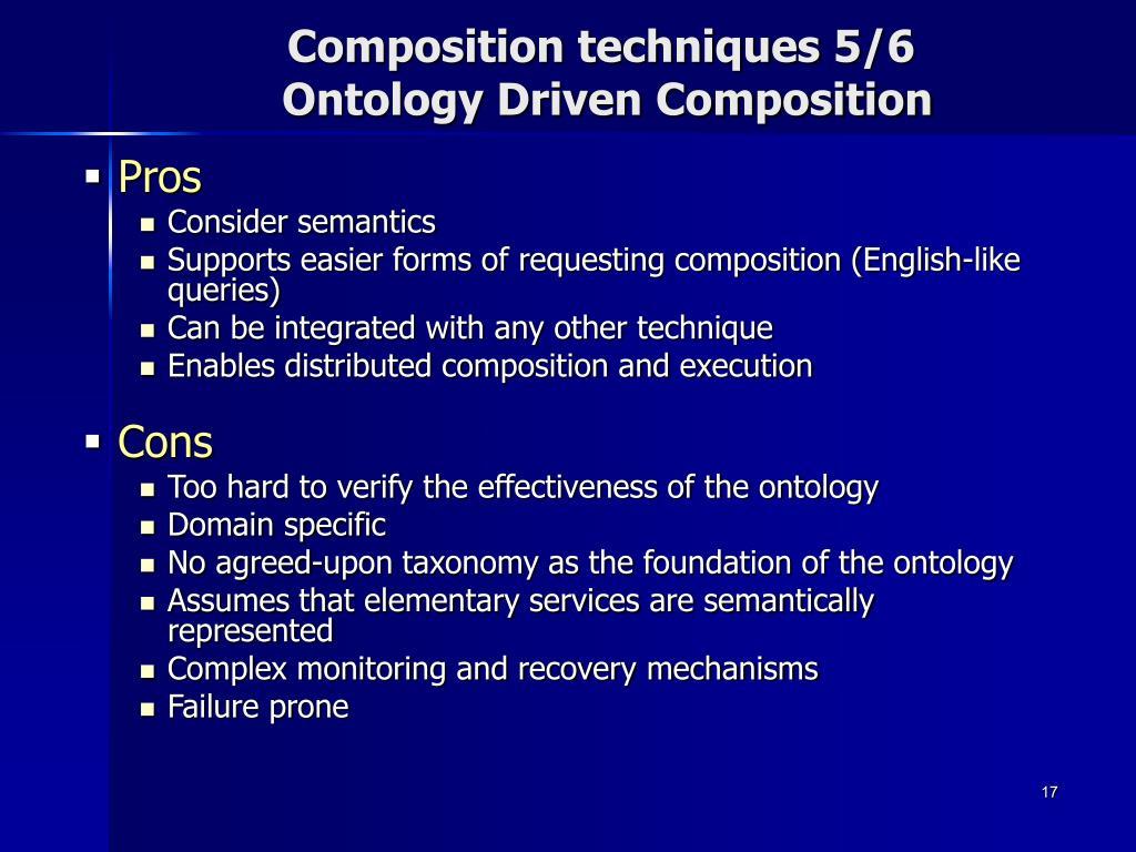 Composition techniques 5/6