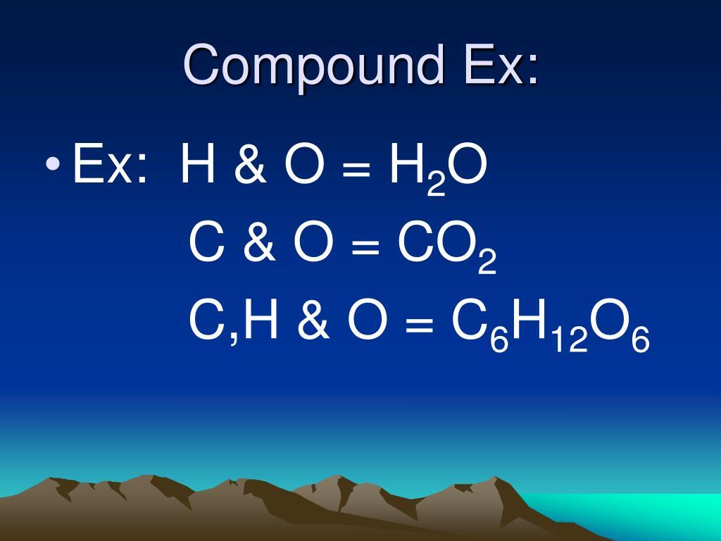 Compound Ex: