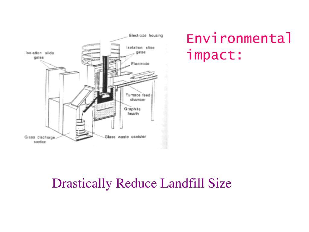 Environmental impact: