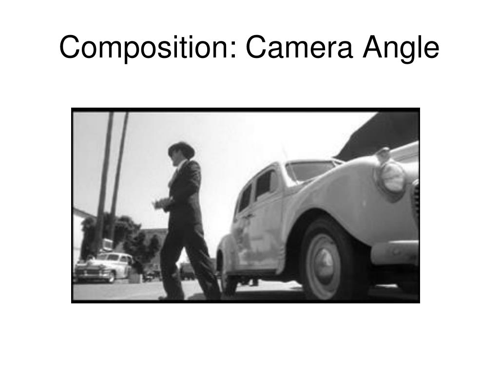 Composition: Camera Angle
