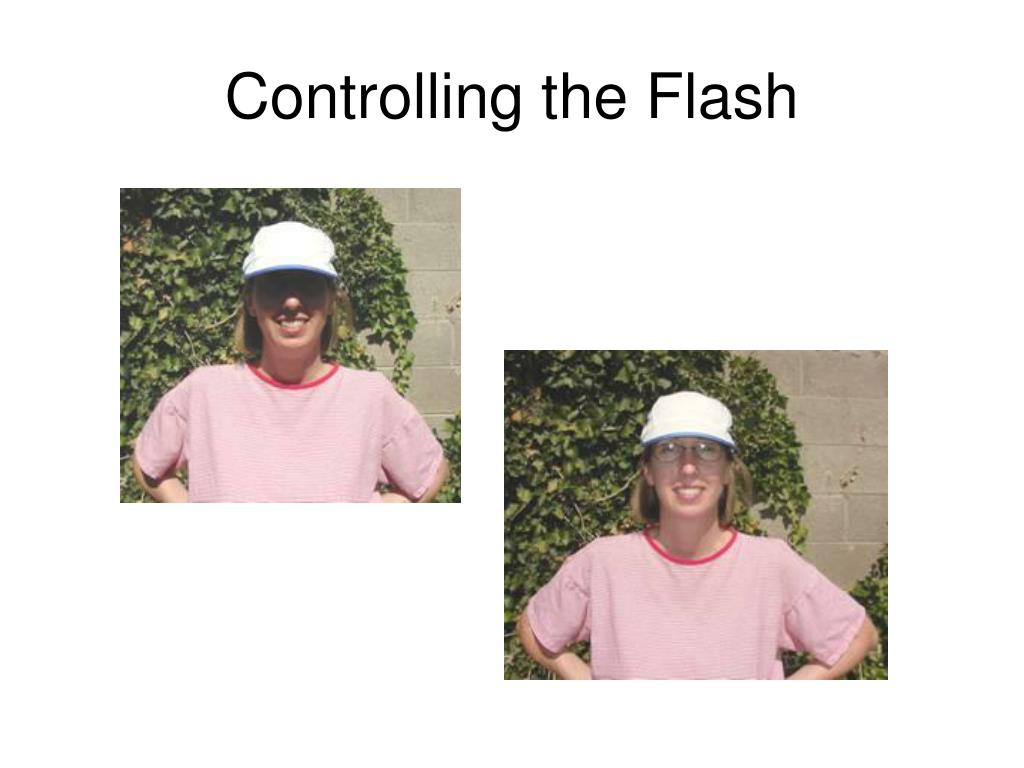 Controlling the Flash