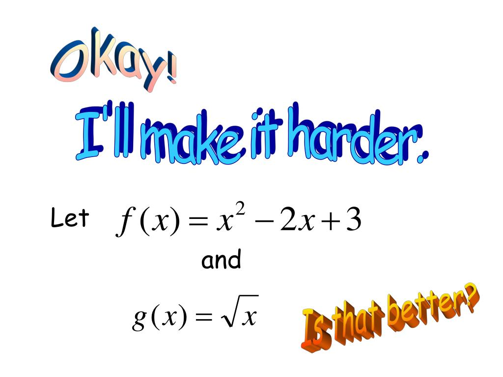 Okay!