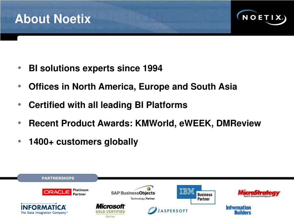 About Noetix