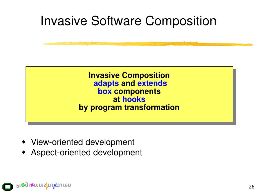 Invasive Software Composition