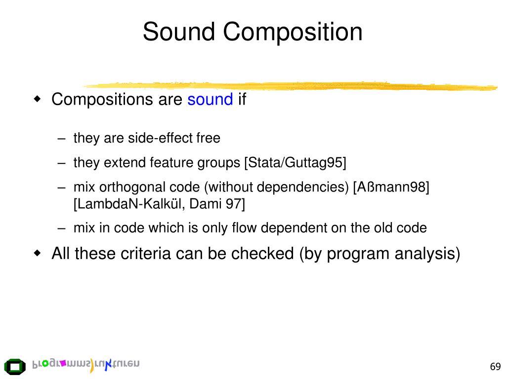 Sound Composition