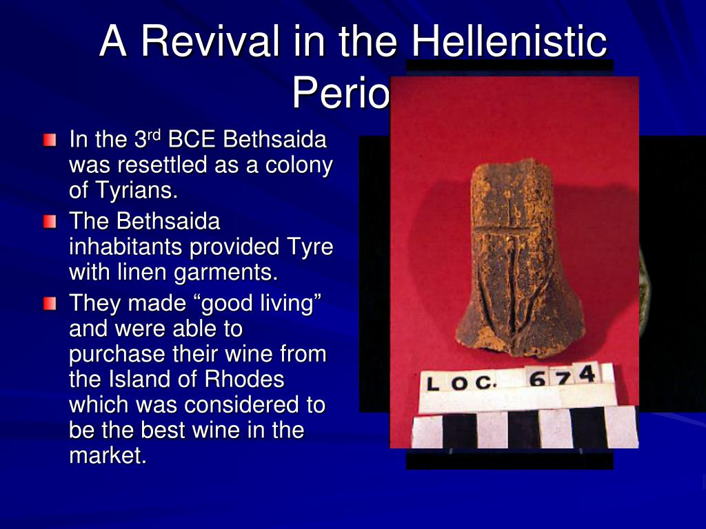 A Revival in the Hellenistic Period