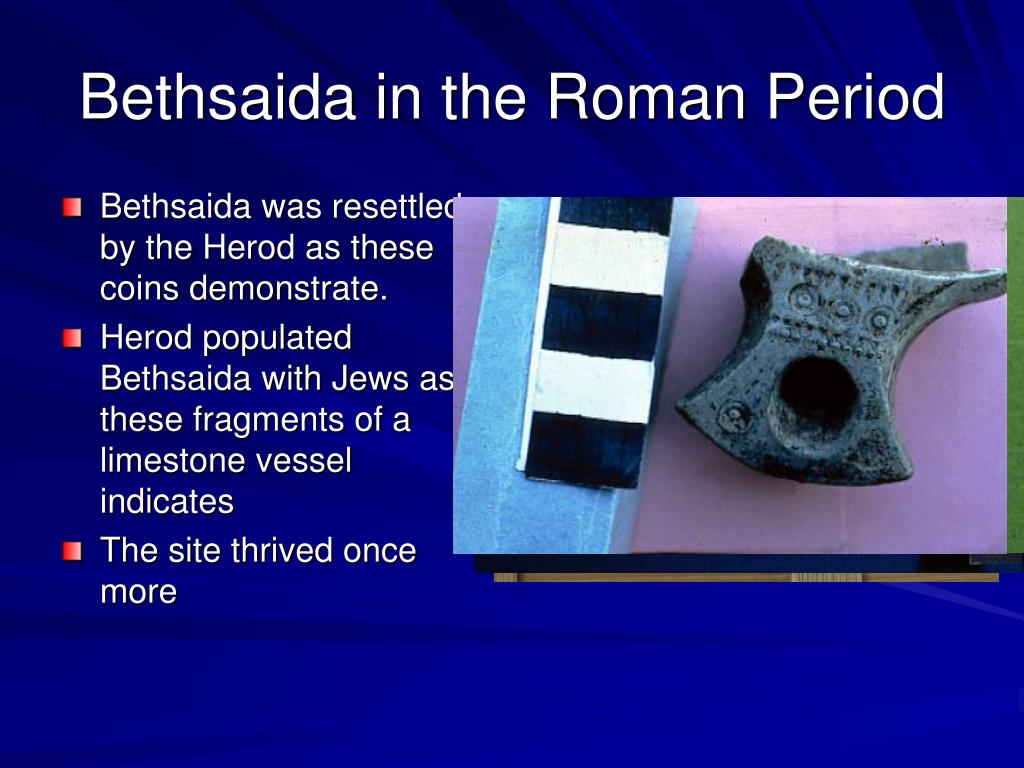Bethsaida in the Roman Period