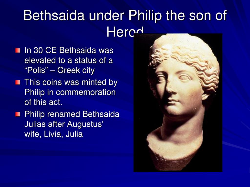 Bethsaida under Philip the son of Herod