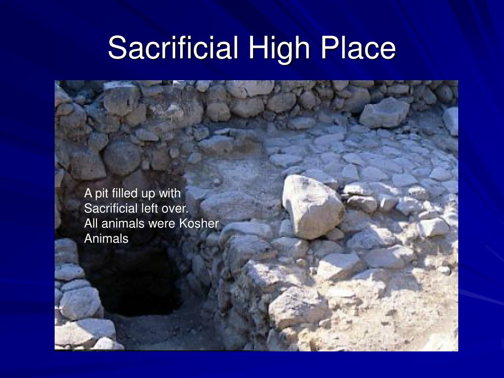 Sacrificial High Place