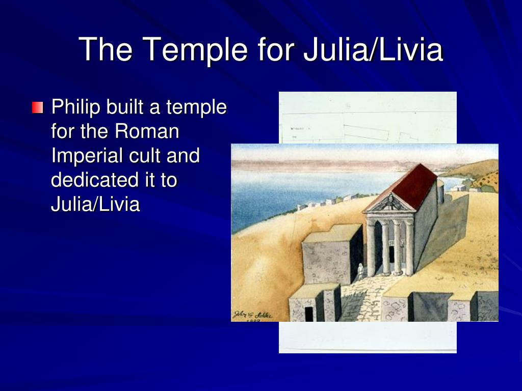 The Temple for Julia/Livia