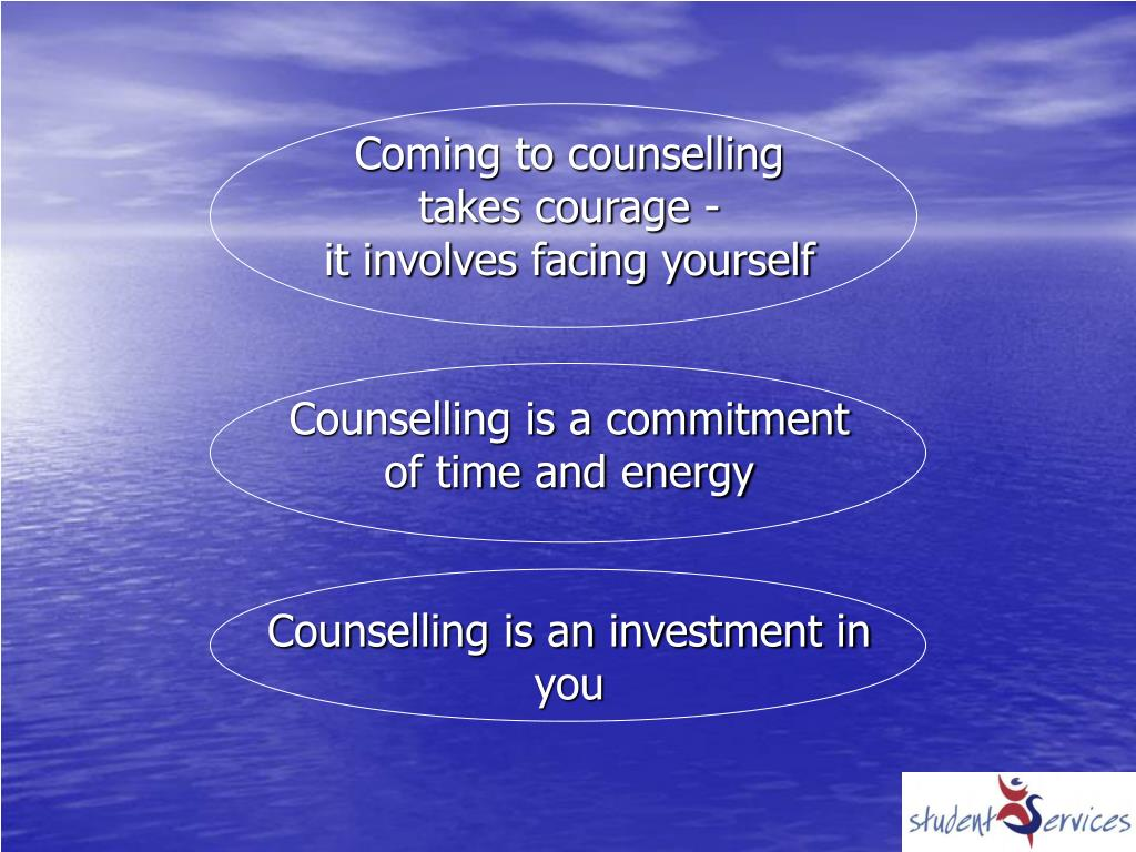 Coming to counselling