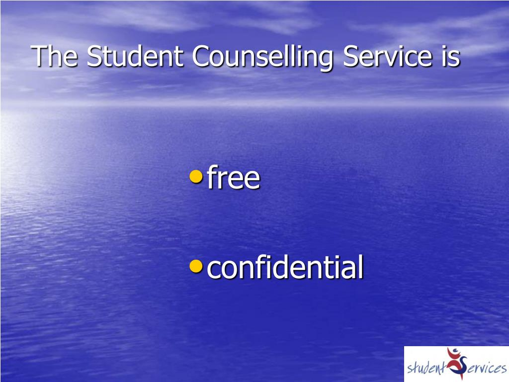 The Student Counselling Service is